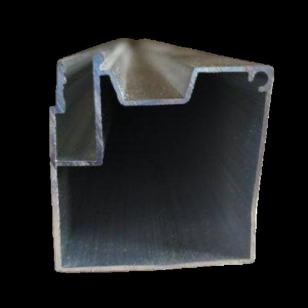 Брус алюминиевый под скрытый карниз с подсветкой 2 м