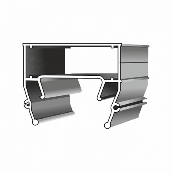 Алюминиевый профиль «Световая линия» 2 м без вставки 3 см AZ