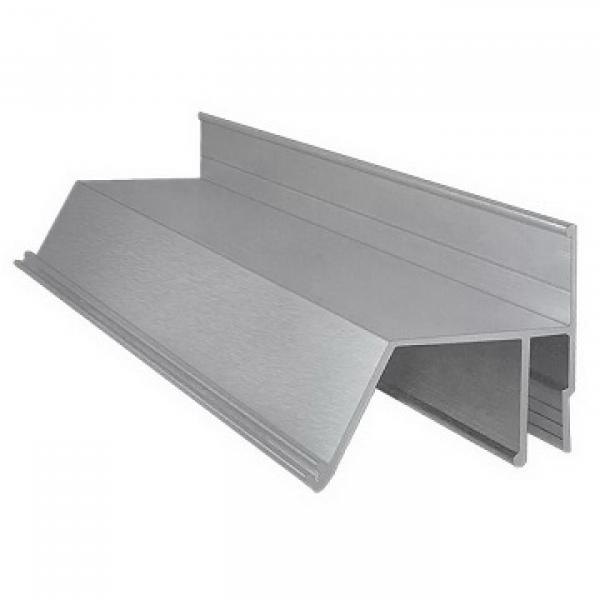Алюминиевый профиль контурный 2м, гарпунный